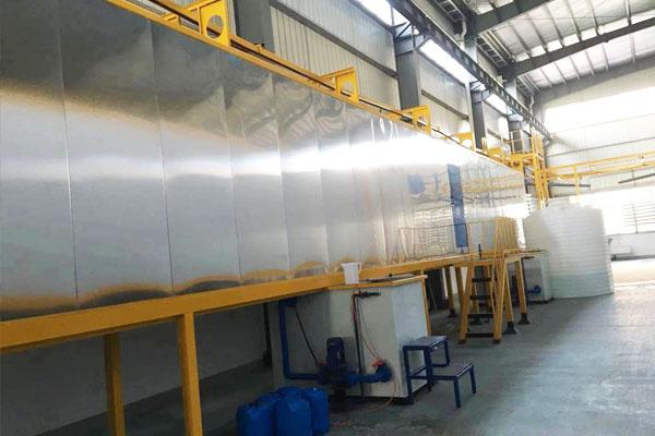 铝材喷塑流水线设备