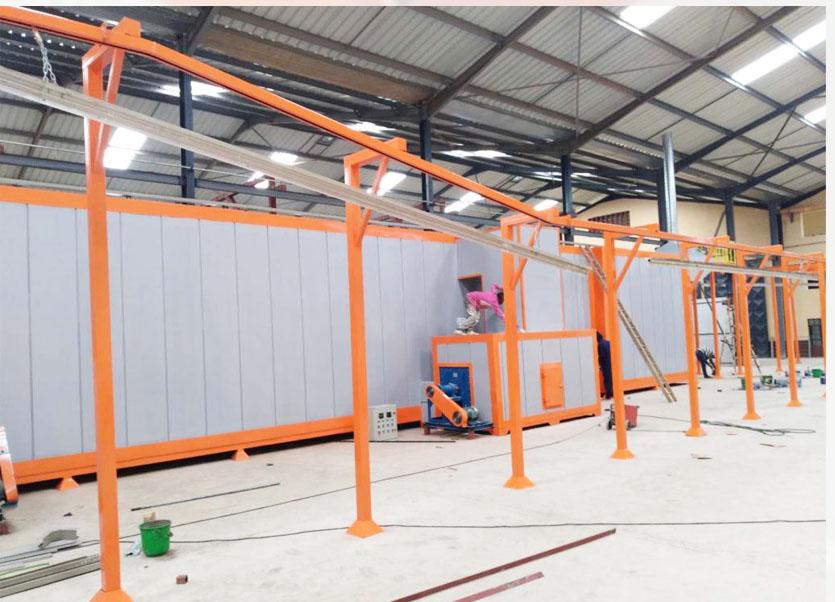 喷涂企业必须了解的静电喷塑生产线前处理用途原理