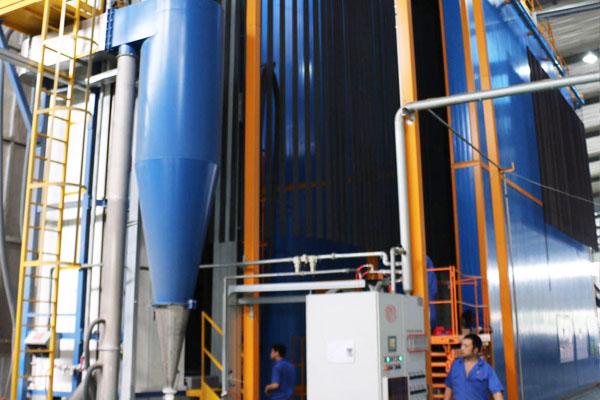 钢管、铝材立式喷涂生产线