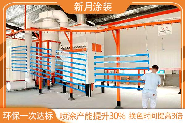 护栏喷塑设备新月制造28年