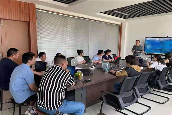 喷涂设备生产线厂家月度会议